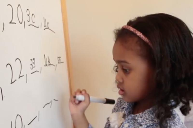 Чотирирічну дівчинку визнали однією з наймолодших вундеркіндів світу