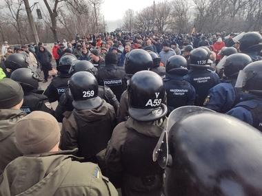 Українці протестують проти прийому евакуйованих з Китаю