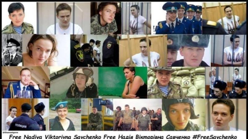Urge Russia to release Nadiya Savchenko