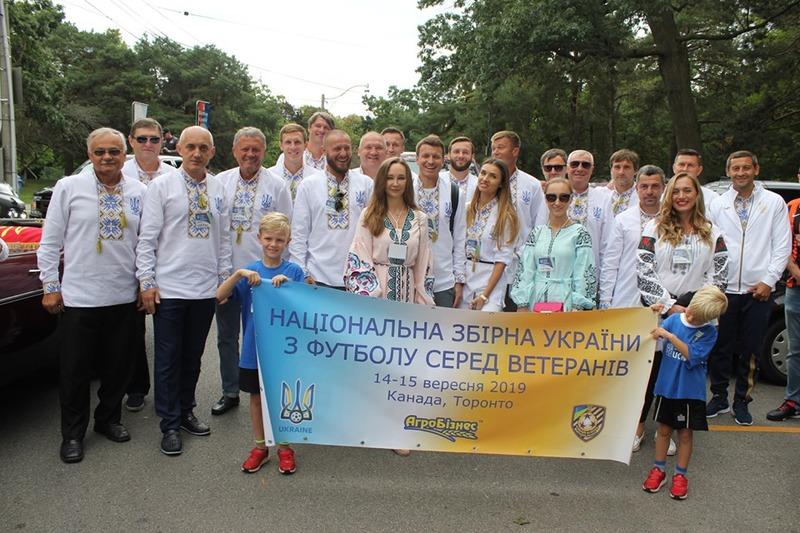 Збірна ветеранів України на головній сцені BWV Toronto Ukrainian Festival