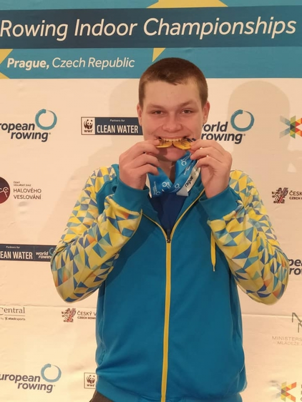 Українці здобули 5 нагород континентальної першості з веслування на ергометрах