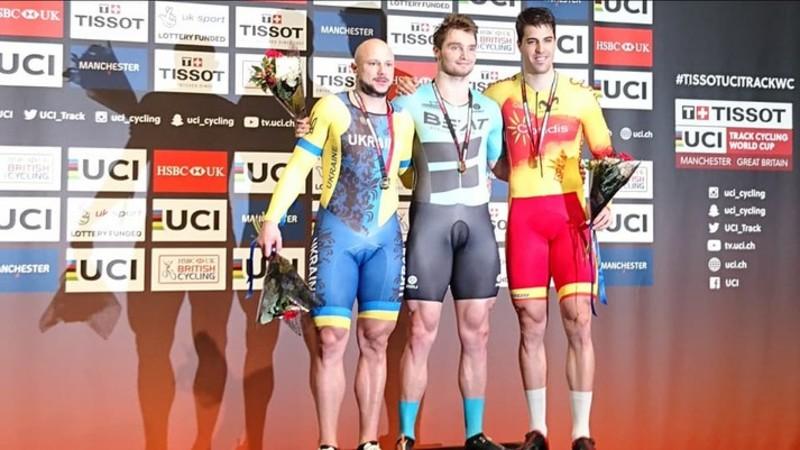 Українські велосипедисти здобули срібло та бронзу на етапі Кубка світу