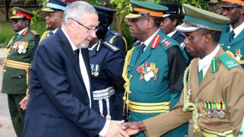 В.о. президента Замбії вперше став білий політик