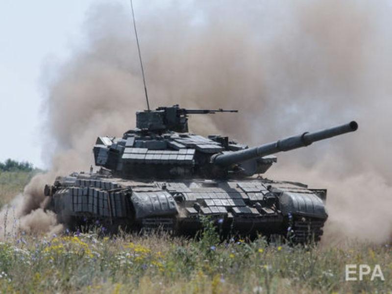 Збройні формування РФ  нарощують кількість військової техніки поблизу лінії розмежування.