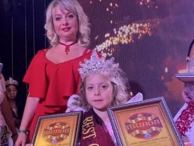 6-річна українка перемогла на міжнародному конкурсі краси