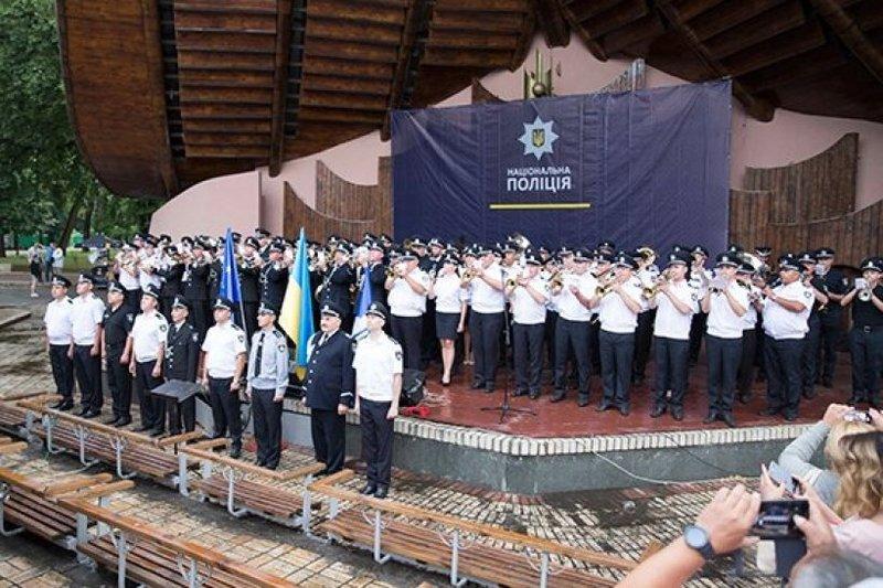 Українські поліцейські оркестри встановили рекорд
