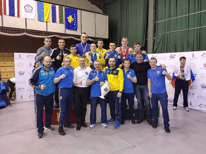 Україна виборола 6 нагород на боксерському турнірі в Угорщині