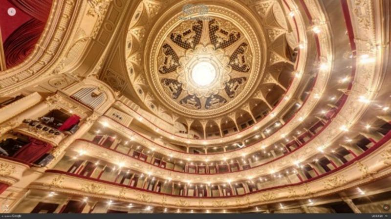 Google запустив віртуальний 3D-проект оперними театрами України