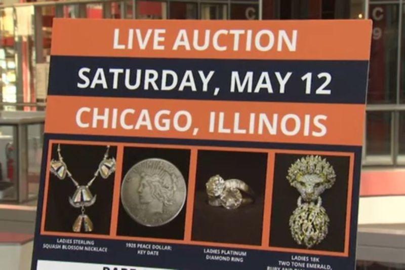 Безгосподарне майно, вартістю понад 100 тисяч доларів, буде продано на аукціоні в Чикаго