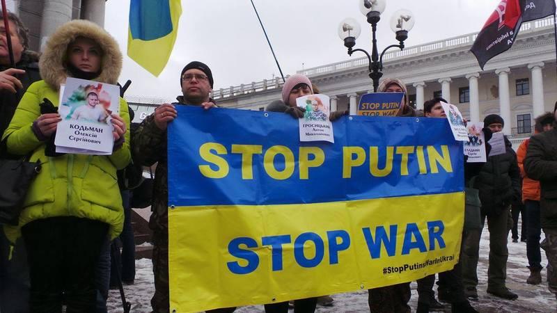 Невдовзі відбудеться всесвітній протест проти російської агресії в Україні