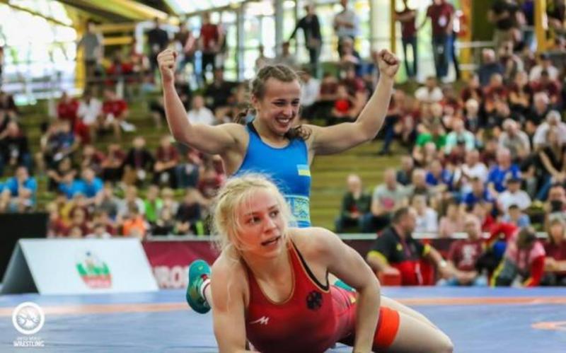 Українка стала чемпіонкою Європи з боротьби