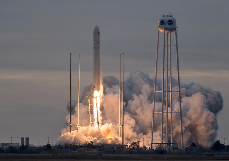 У Вірджинії успішно запустили ракету з українською складовою