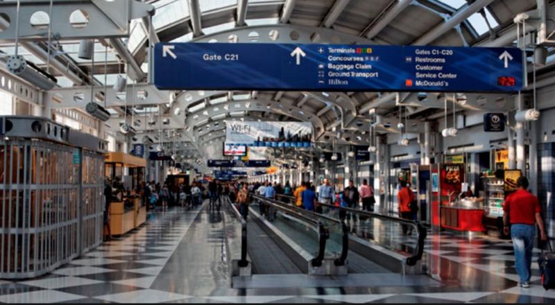 Аеропорти Чикаго тепер надають безкоштовний і необмежений доступ до інтернету