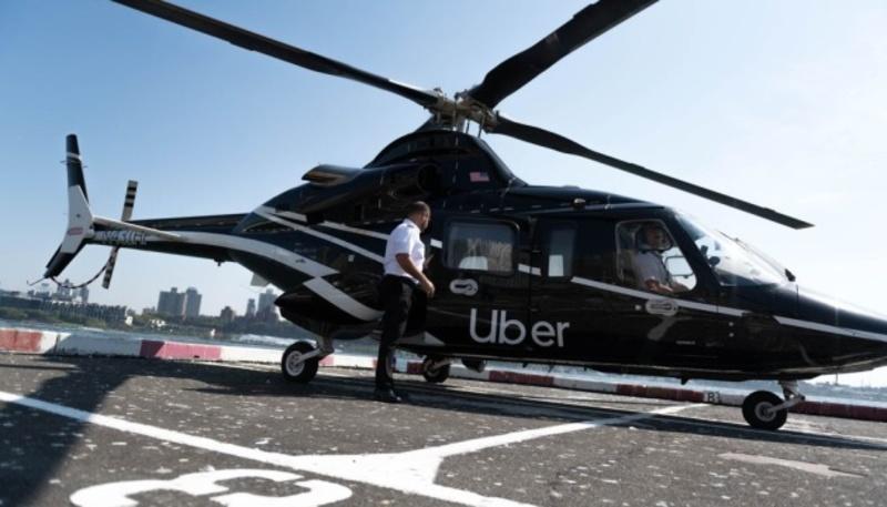 Uber запустив вертолітне таксі для всіх користувачів у Нью-Йорку