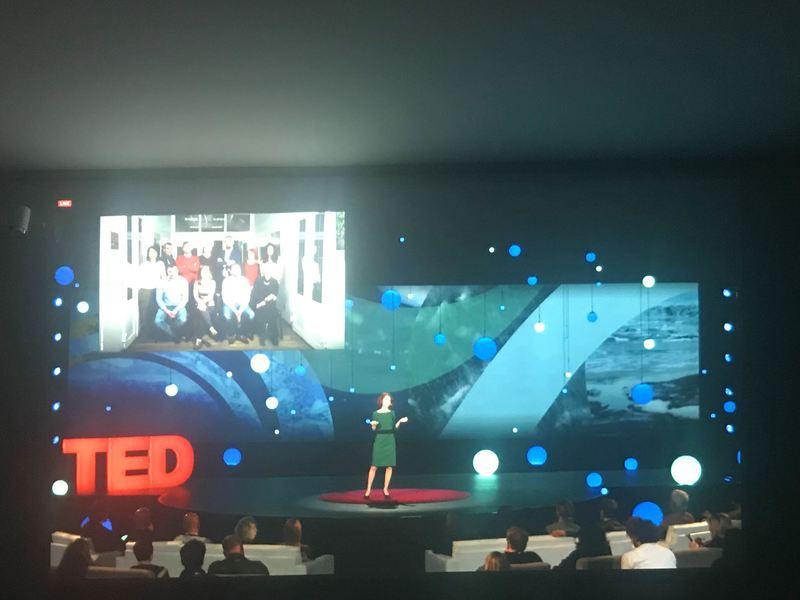 Вперше українка виступила з промовою на TED