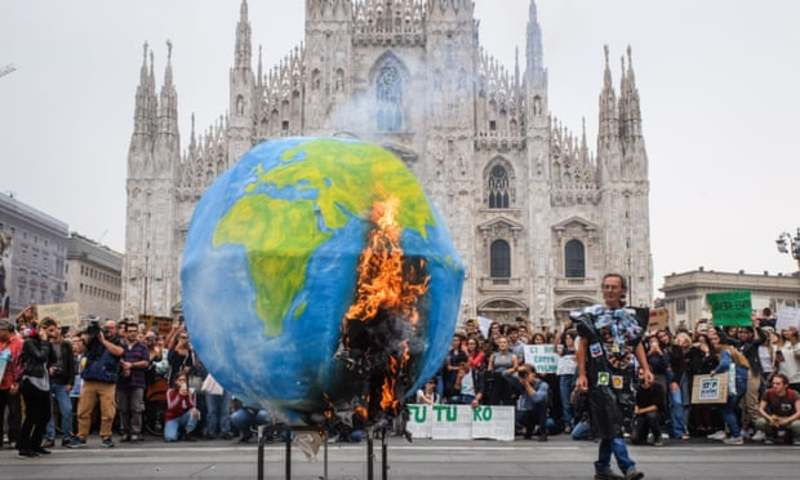 Італія стане першою у світі, де у школах вивчатимуть зміни клімату