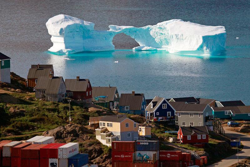 Гренландія продаватиме воду танучих льодовиків