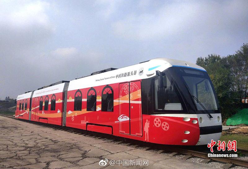 УКитаї запустили трамвай з гібридним двигуном