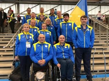 Національна паралімпійська збірна України - переможці чемпіонату світу зі стрільби