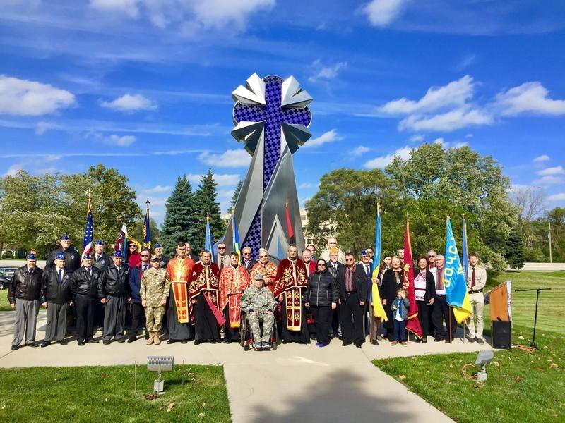 Громада в Чикаго відзначила День захисника України