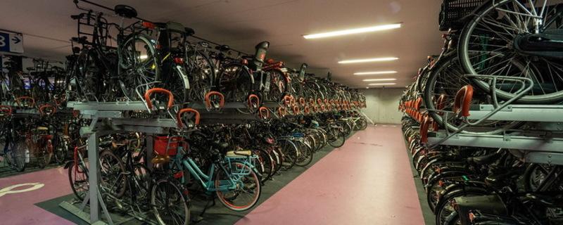 Найбільший у світі велопаркінг запрацював у Нідерландах