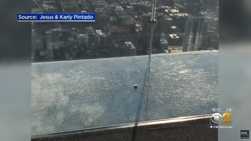 У Чикаго під ногами туристів тріснула скляна підлога на 103 поверсі