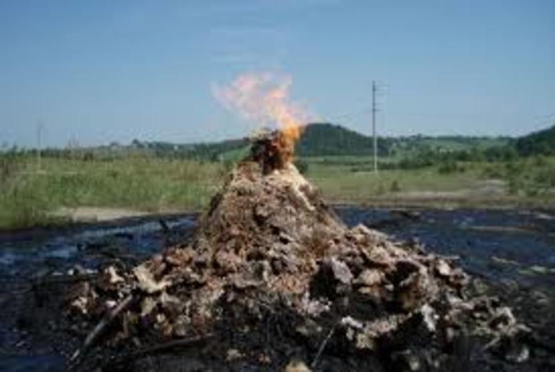 Єдиний у світі лікувальний грязьовий вулкан знаходиться в Україні