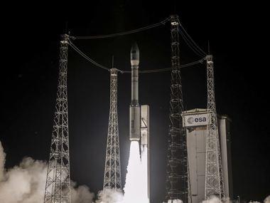 У Французькій Гвіані успішно запустили ракету-носій з українським двигуном