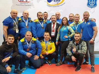 Українські пауерліфтери вибороли 11 нагород на чемпіонаті Європи з жиму лежачи