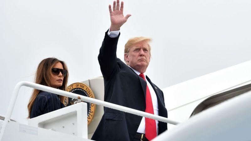 Президент Дональд Трамп сьогодні зробить зупинку в штаті Іллінойc