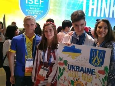 Школярка з Донеччини стала призеркою міжнародного наукового конкурсу в Аризоні