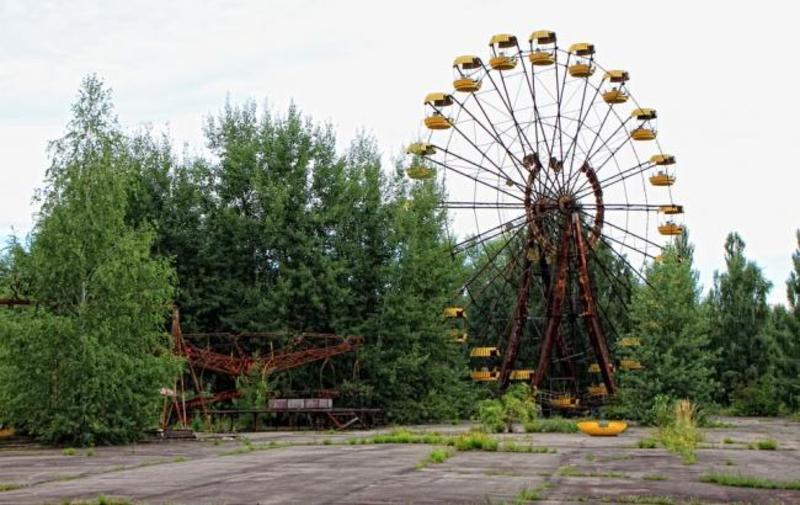 """У Чорнобилі """"запустили"""" відоме колесо огляду"""