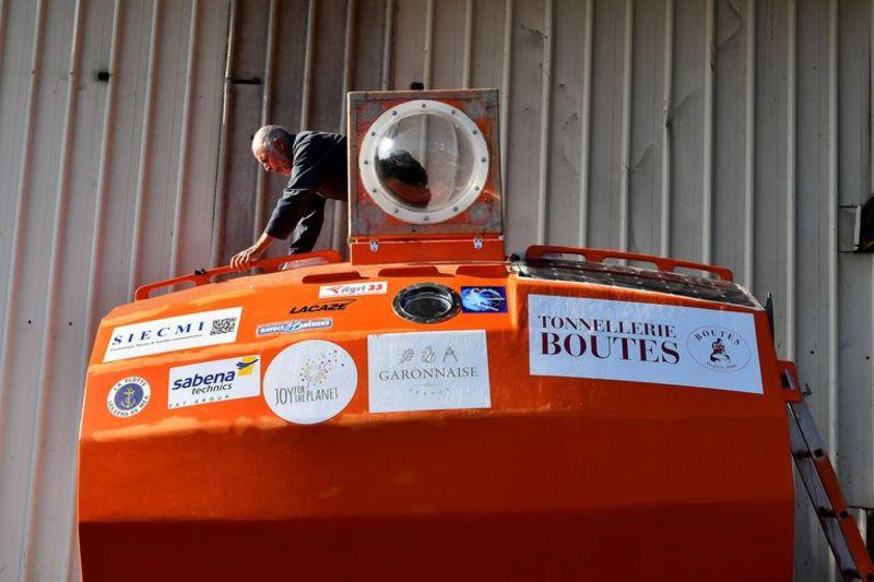 72-річний француз перетнув Атлантичний океан у бочці