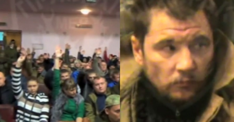 В мережі з'явилося відео першого «народного суду Новоросії»