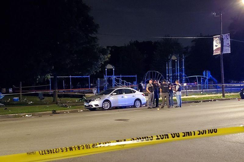 Стрільба в парку Дугласа. 7 поранених