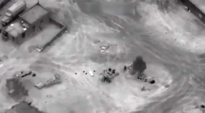 США показали кадри розгрому російських найманців у Сирії (відео)