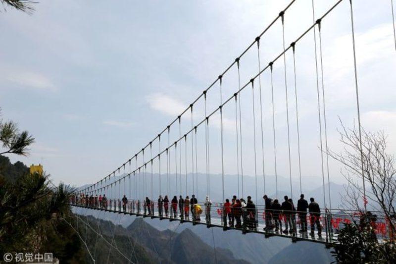 У Китаї з'явився найвищий міст у світі