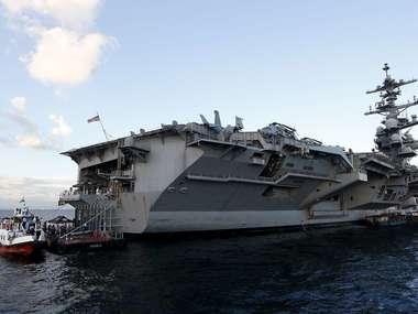 На борту авіаносця понад 100 моряків заразились коронавірусом