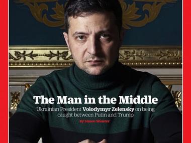 Президент України потрапив на обкладинку Time