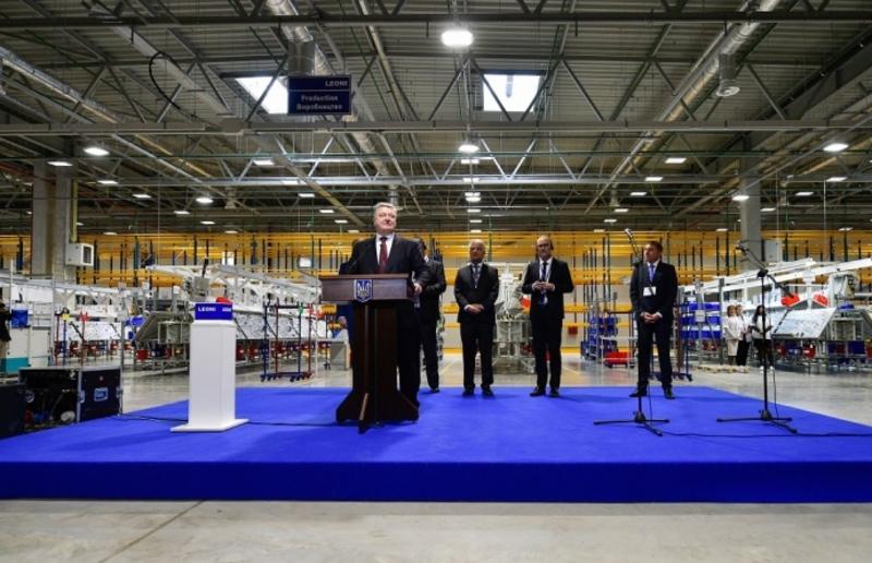 УКоломиї відкрили завод, який вироблятиме деталі для Lamborghini,— Порошенко