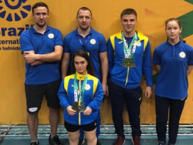 Українські парабадмінтоністи вибороли 4 медалі міжнародного турніру