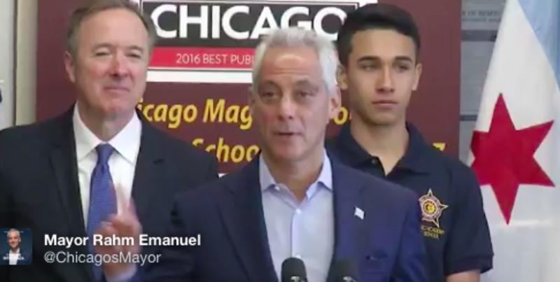 """Мер Чикаго оголосив місто зоною """"вільною від Трампа"""""""