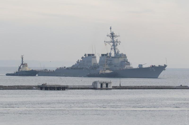 Ракетний есмінець США прибув до Одеси