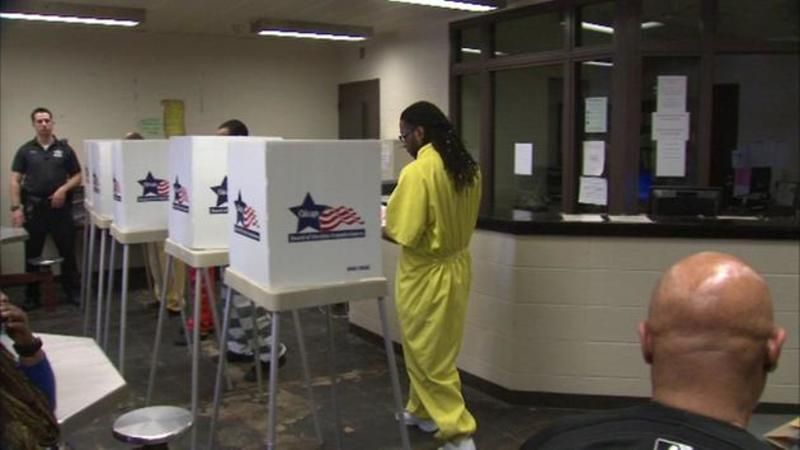 Вперше у Чикаго ув'язнені взяли участь у голосуванні