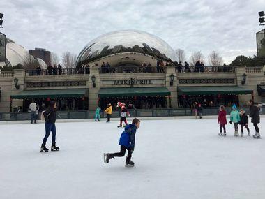 Найбільша безкоштовна ковзанка  Чикаго розпочала сезон