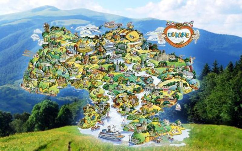 Діаспора запускає туристичний сайт про Україну