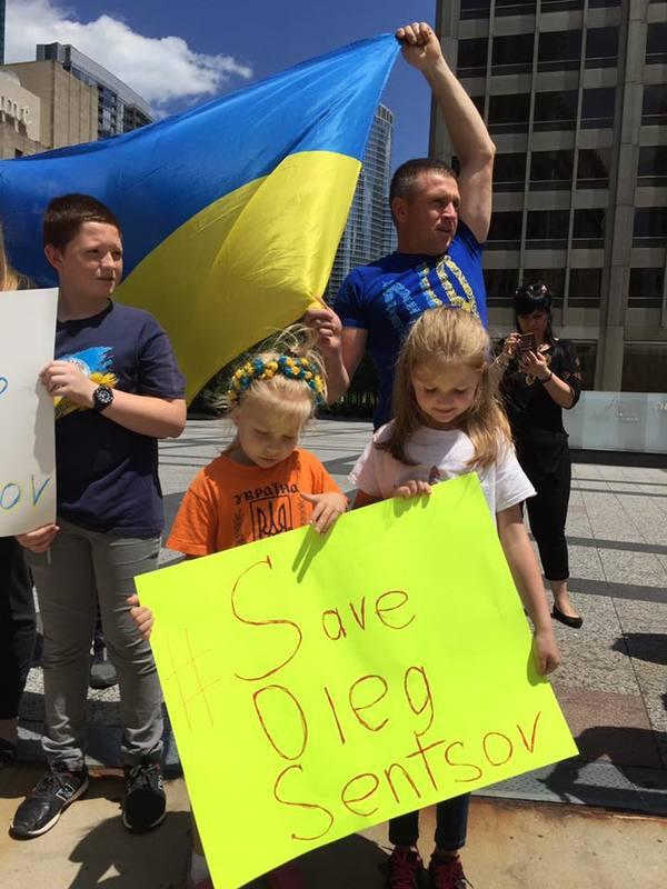 Чикаго приєдналося до всесвітньої акції  #SaveOlegSentsov