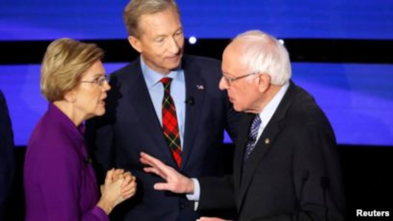 Вибори президента США: в штаті Айова голосують за кандидата від демократів