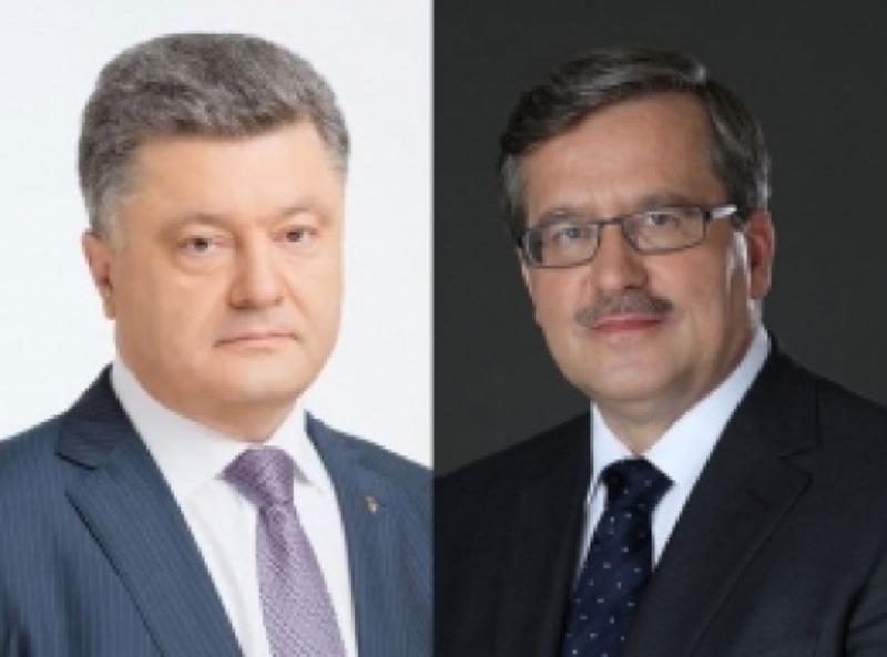 Порошенко провів телефонну розмову з Президентом Польщі