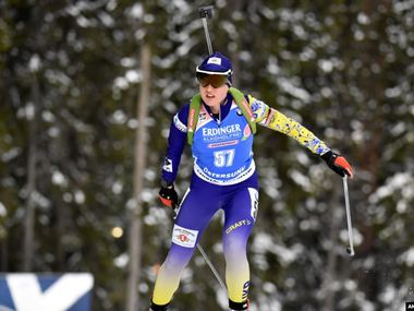 Біатлон: українка Меркушина виграла кваліфікацію суперспринту на Кубку IBU